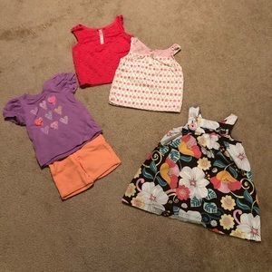 18mo Cherokee lot. Gently used condition!